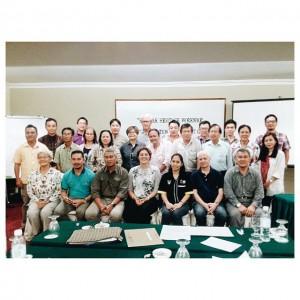 A group photo of the workshop participants.