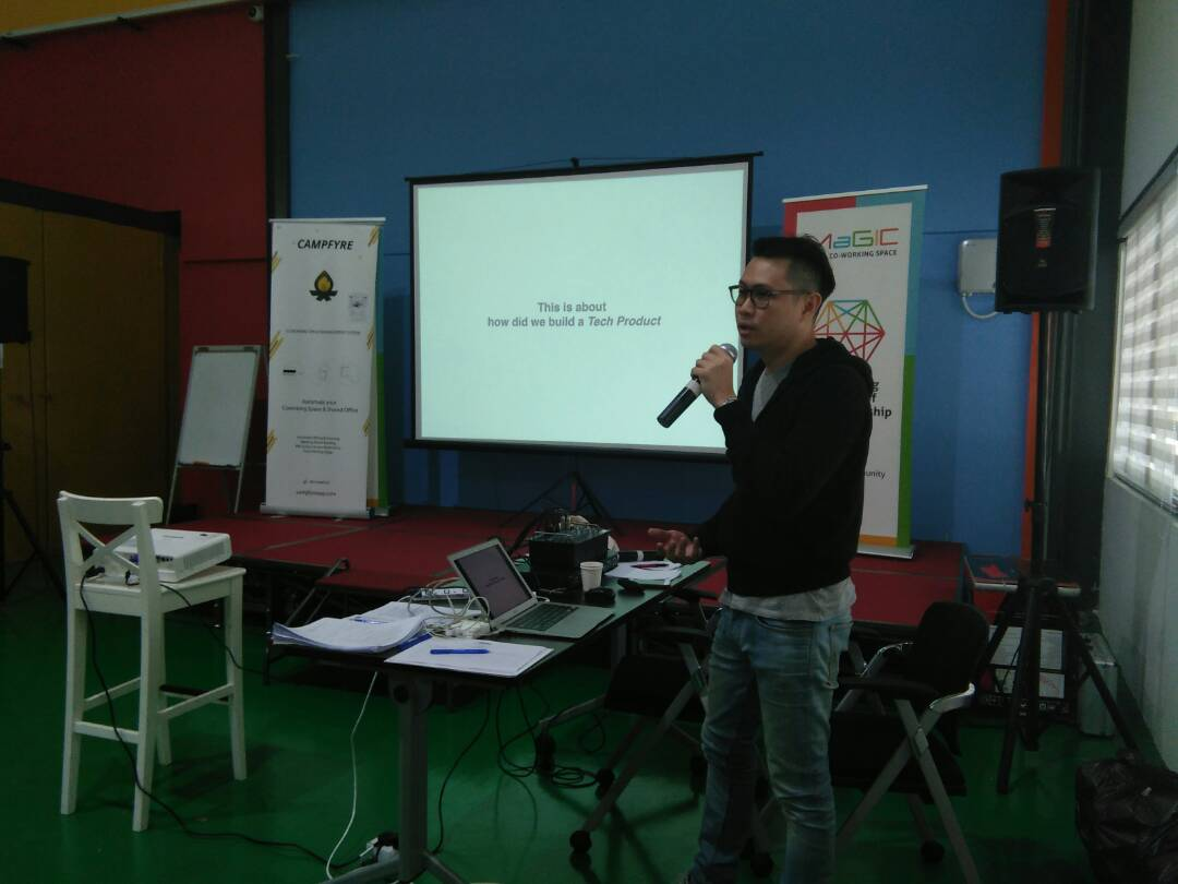 Mac Jake pengasas CampFyre dan rakan kongsi bagi Squirtle Sdn Bhd memberi penekanan kepada kreativiti dan inovasi dalam keusahawanan.