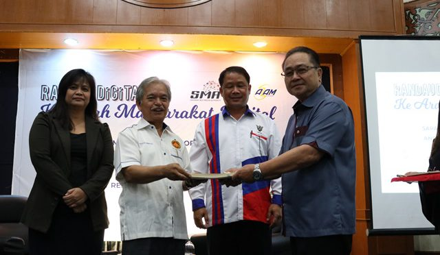 SMA-AZAM Digital Inclusivity campaign kicked off in Limbang