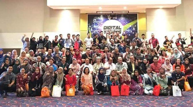 """AZAM sertai jerayawara belia """"Digital Inclusivity"""" anjuran UKAS dengan kerjasama SMA di Mukah"""