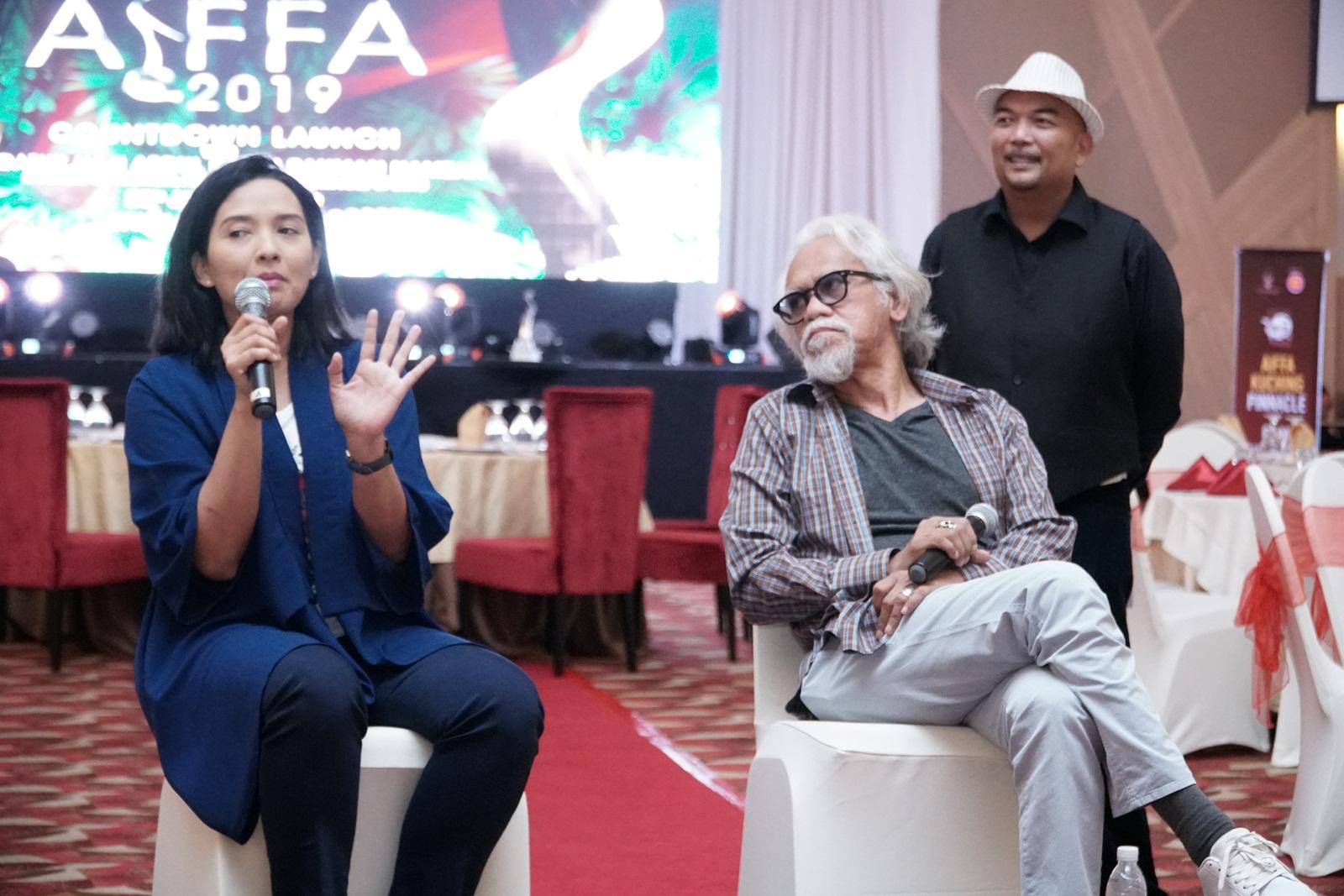 Artis terkenal tanah air, Vanidah Imran dan Pengarah filem, U-Wei Shaari turut berkongsi pengalaman dan penglibatan mereka dalam bidang perfileman.