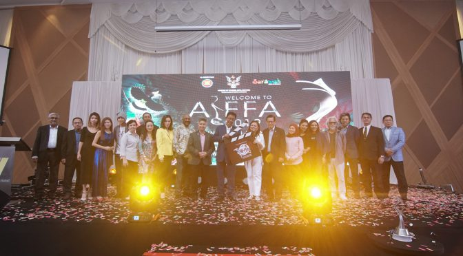 AIFFA mengetengahkan kelebihan belia dan potensi Sarawak dalam bidang perfileman