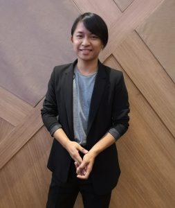Seph Haini, salah seorang ahli AZAM Young Souls yang turut hadir ke majlis pelancaran AIFFA 2019.