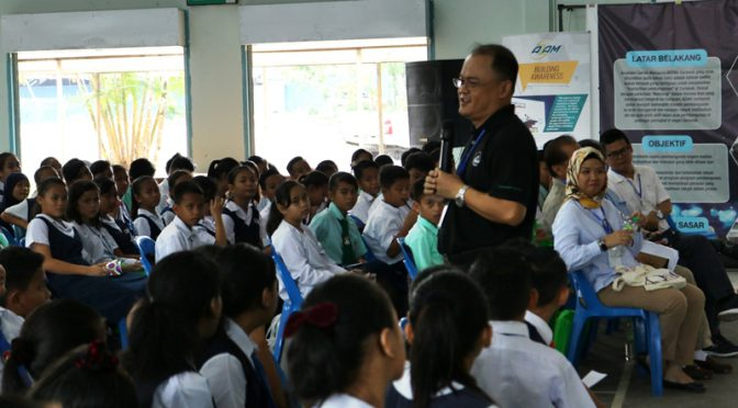 Rural pupils learn English with AZAM Sarawak