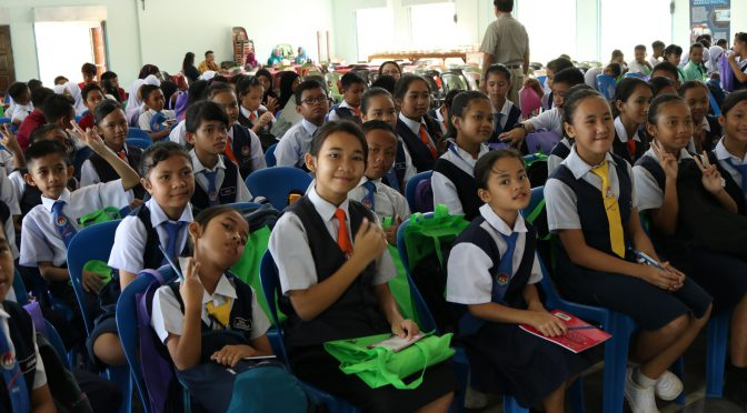 English fluency promoted in AZAM rural school outreach programme