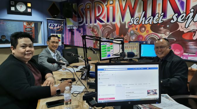 SMA-AZAM 'NEW NORMAL' RADIO CAMPAIGN KICKS OFF WITH 'SEMBANG DIGITAL NORMAL BARU' OVER SARAWAK FM, RTM