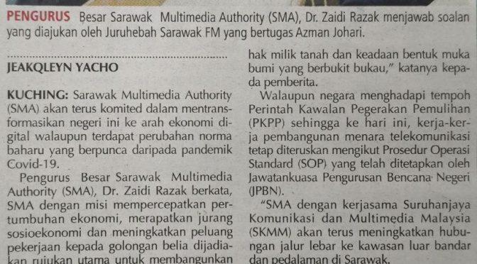 SMA komited transformasi Sarawak