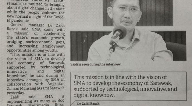 SMA committed to bringing about digital changes in Sarawak